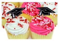 graduation-cupcake